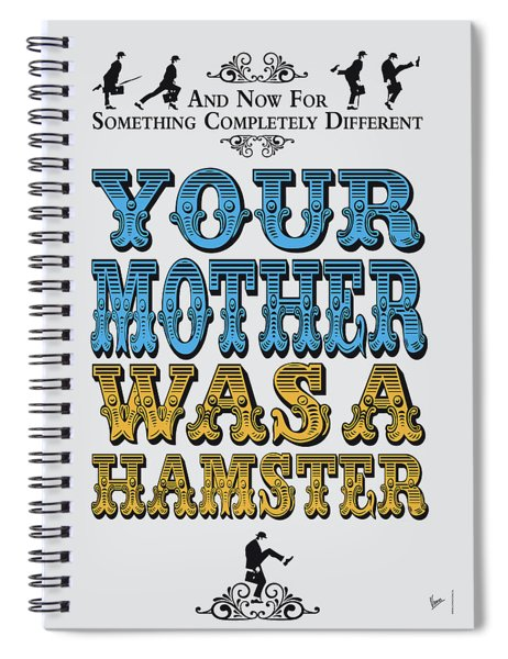No15 My Silly Quote Poster Spiral Notebook