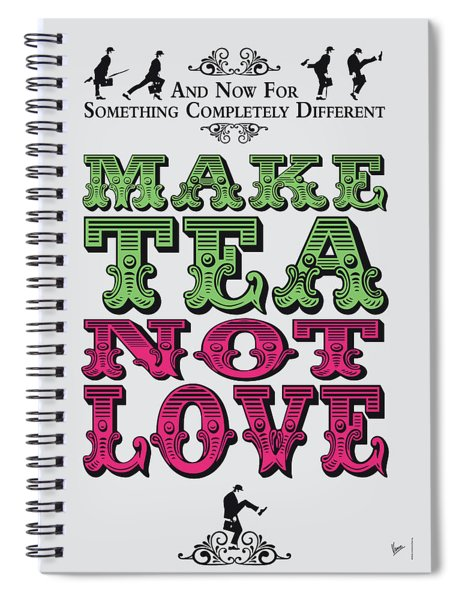 No16 My Silly Quote Poster Spiral Notebook