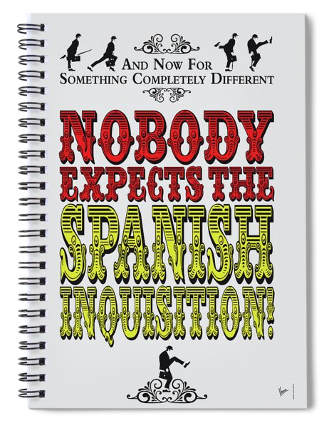 No17 My Silly Quote Poster Spiral Notebook