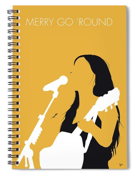 No294 My Kacey Musgraves Minimal Music Poster Spiral Notebook