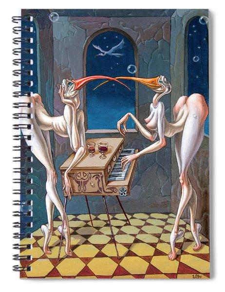 Nocturne Spiral Notebook