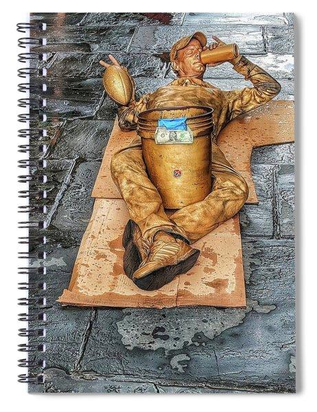 Nola Street Art Alive  Spiral Notebook