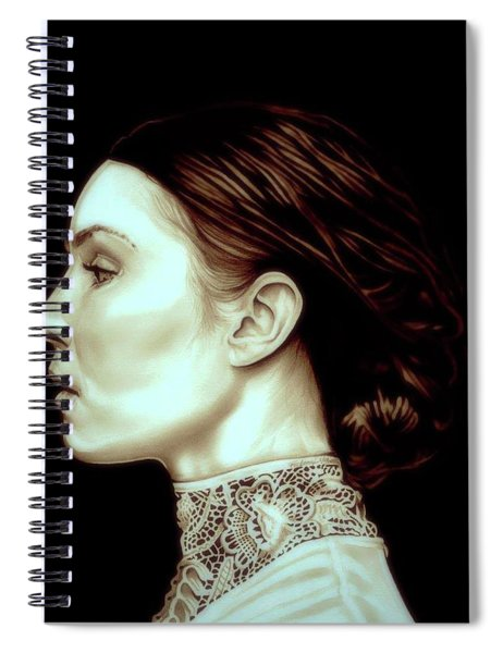 Noomi Rapace Spiral Notebook