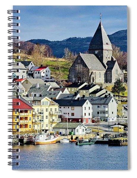 Nordlandet Church,  Kristiansund , Norway Spiral Notebook