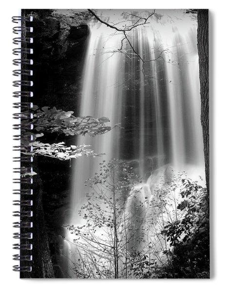 North Carolina Falls Spiral Notebook