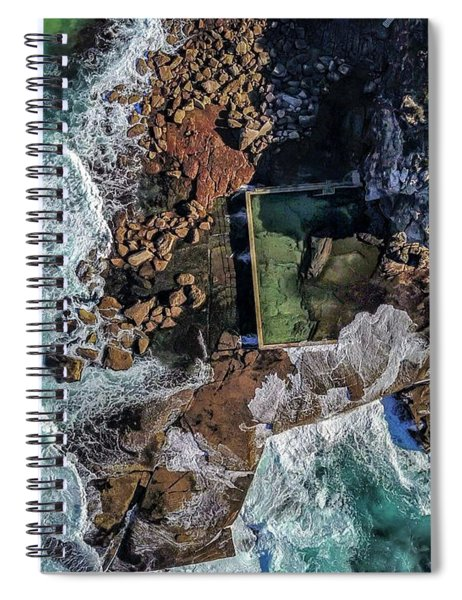 North Curl Curl Headland And Pool Spiral Notebook