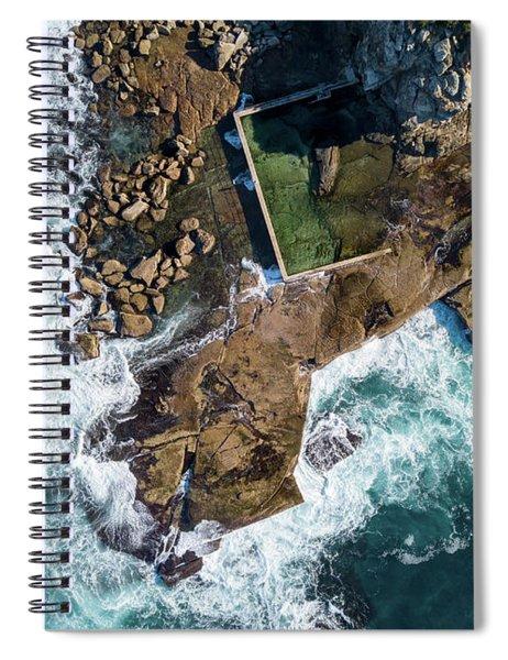 North Curl Curl Pool Spiral Notebook