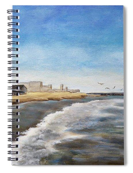 North End Beach Spiral Notebook