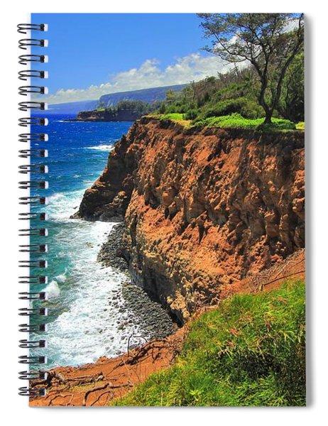 North Hawaii View Spiral Notebook
