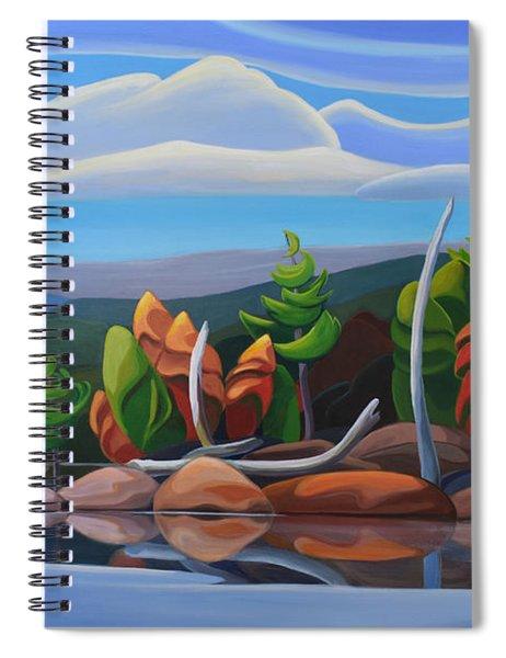 Northern Island II Spiral Notebook