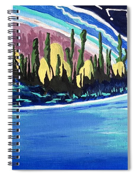 Northern Magic Spiral Notebook