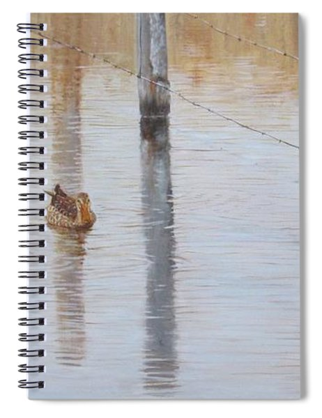 Northern Shovellers Spiral Notebook
