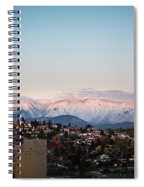 Northshore Winterscape Spiral Notebook