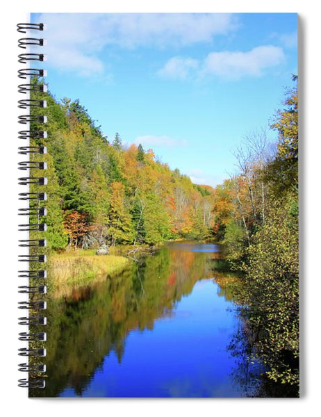Northwoods Reflection Spiral Notebook