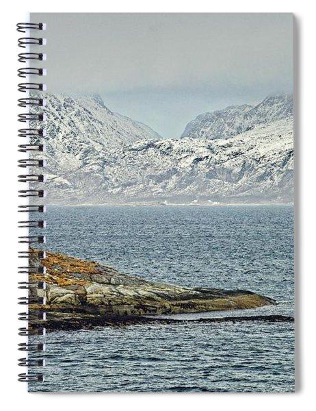 Norwegian Coast Around Bodo Spiral Notebook