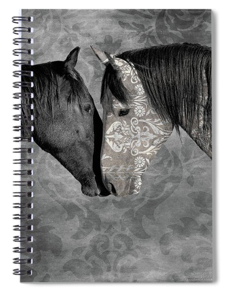 Not Always Black And White Spiral Notebook