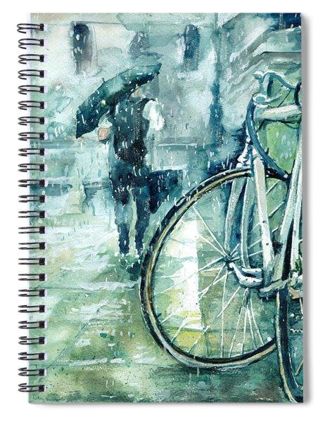 Not Drunk, Just Tired Spiral Notebook