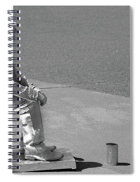 Not Sitting Spiral Notebook