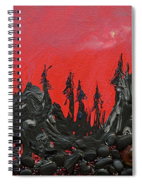 Nothing Left But Smoke Spiral Notebook