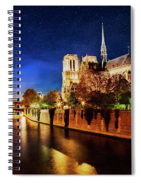Notre Dame Spiral Notebook by Scott Kemper