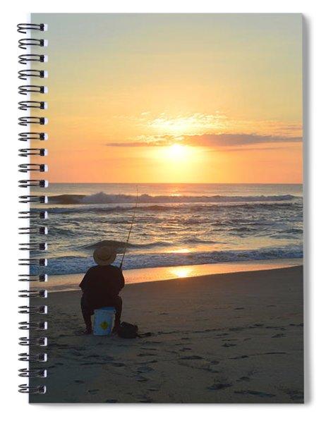 November 3, 2018 Fisherman Spiral Notebook