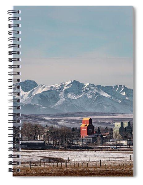 November Nanton Spiral Notebook