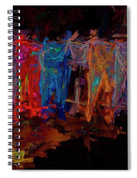Nuclear Sun Dried Wash Spiral Notebook