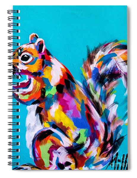 Nuts About Cranberries Spiral Notebook