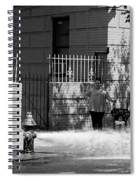 Nyc Summer  Spiral Notebook
