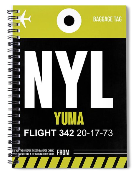 Nyl Yuma Luggage Tag II Spiral Notebook