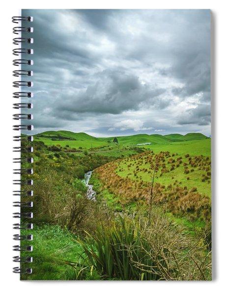 Nz Countryside Spiral Notebook