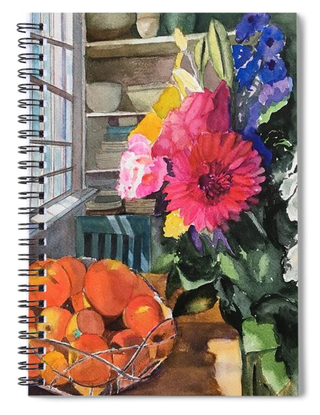 Oak Bluffs Kitchen Spiral Notebook