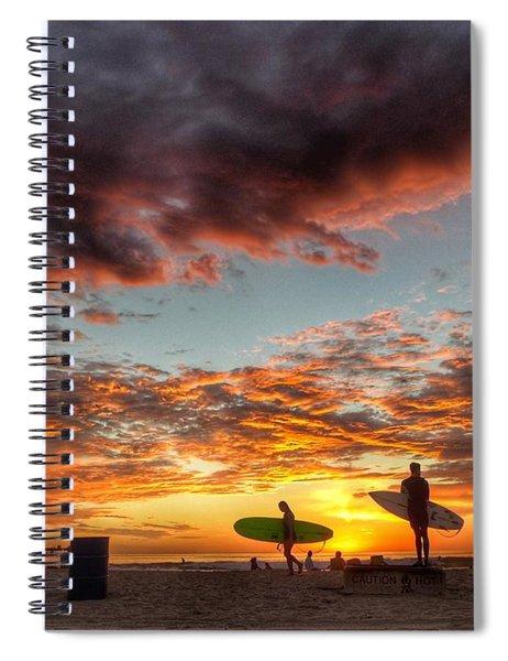 Ob Livin' No. 1 Spiral Notebook