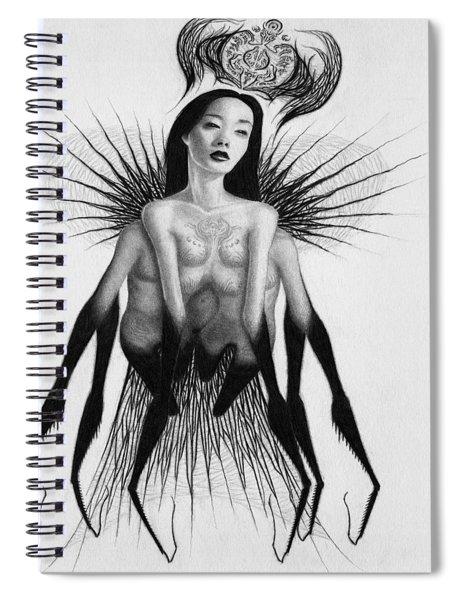 Oblivion Queen - Artwork Spiral Notebook
