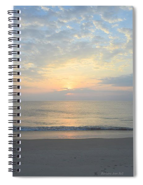 Obx Sunrise 2019 Spiral Notebook