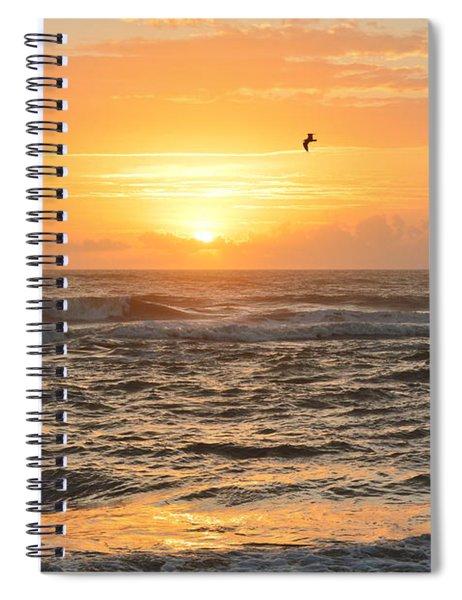 Obx Sunrise 9/17/2018 Spiral Notebook
