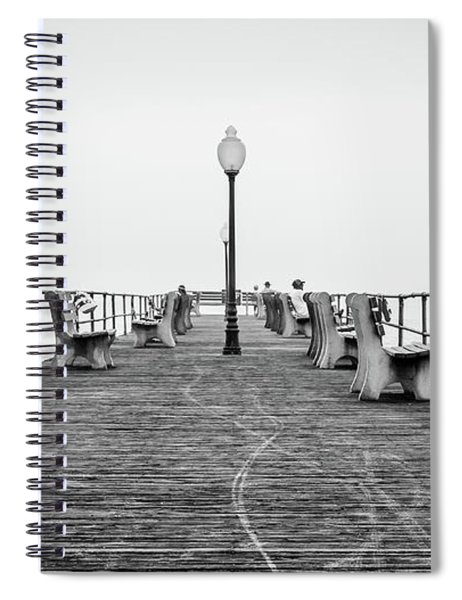 Ocean Grove Pier 1 Spiral Notebook