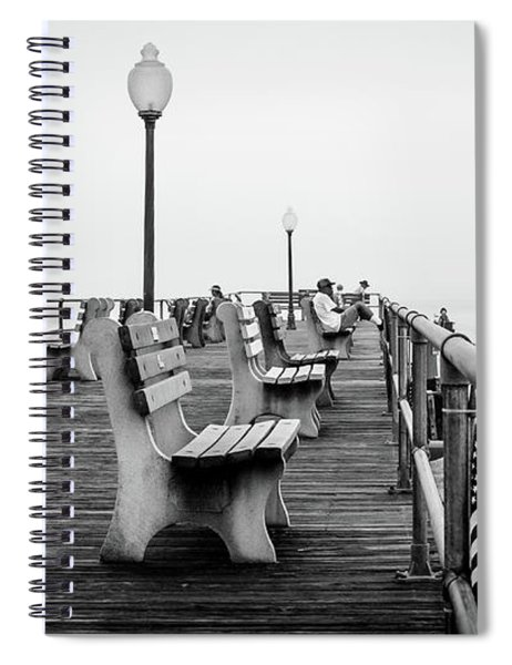 Ocean Grove Pier 2 Spiral Notebook