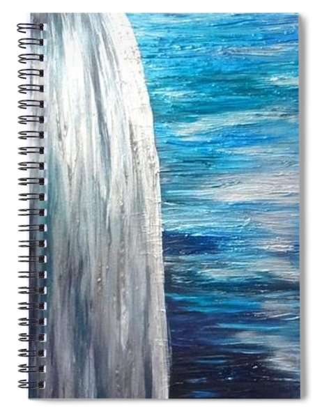 Ocean Latte Stone Spiral Notebook