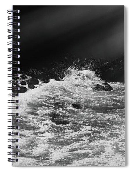 Ocean Memories Iv Spiral Notebook