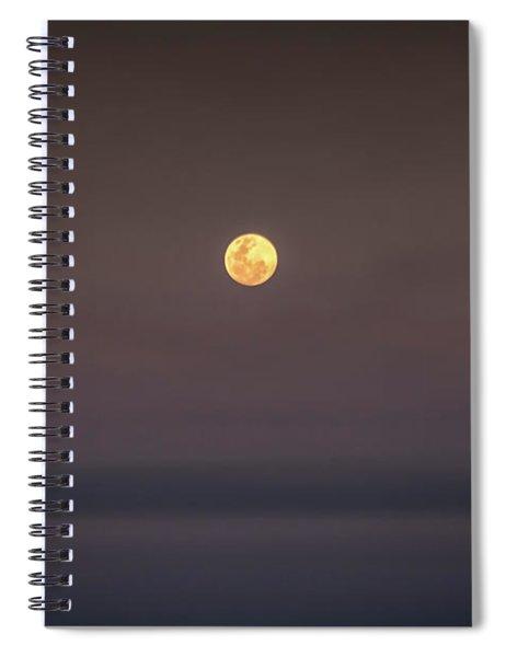 Ocean Moon Spiral Notebook