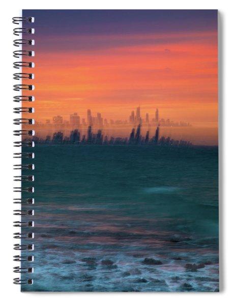 Ocean Motion Spiral Notebook