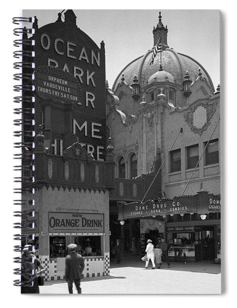 Ocean Park Pier 1920 Spiral Notebook