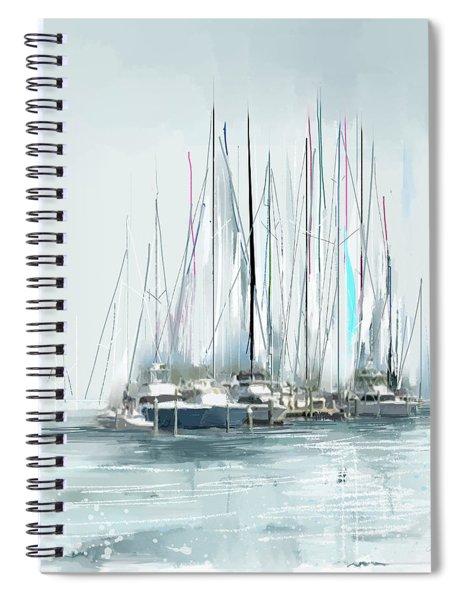 Oceana Idyll Spiral Notebook by Gina Harrison