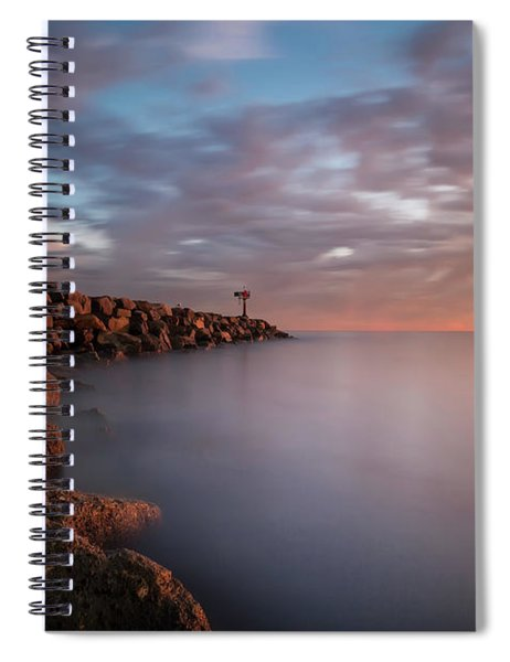 Oceanside Jetty Spiral Notebook