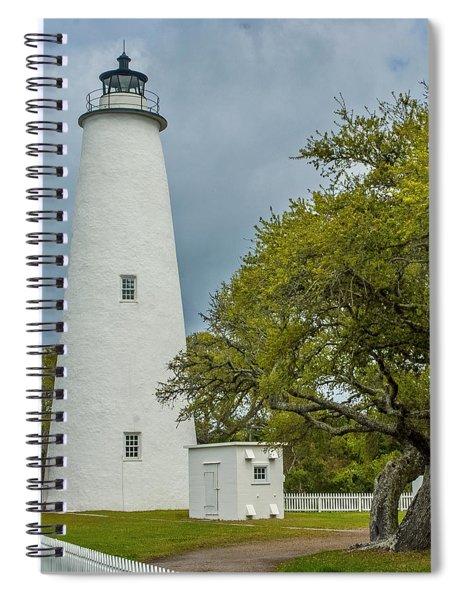 Ocracoke Lighthouse No 2 Spiral Notebook