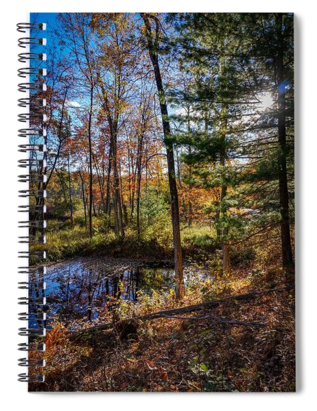 October Late Afternoon Spiral Notebook