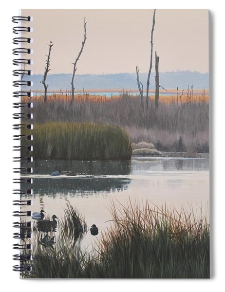 October Reflections Spiral Notebook