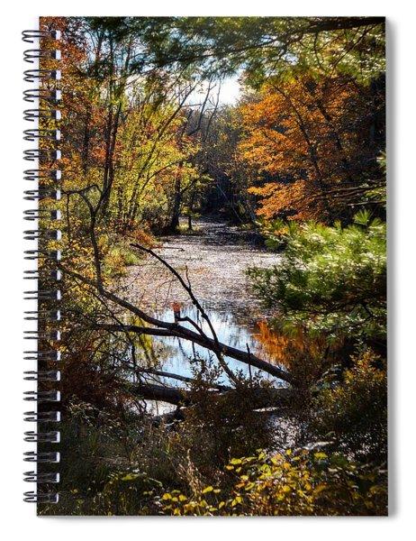 October Window Spiral Notebook