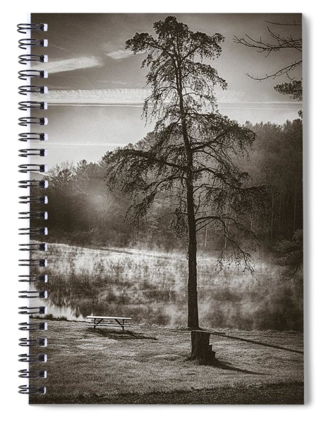Odd Pair Sepia Spiral Notebook